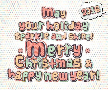 Download Merry Christmas And A Happy New Year Clipart