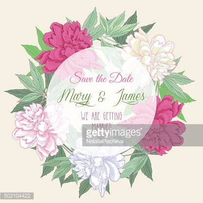 Wreath with pink and white peonies2