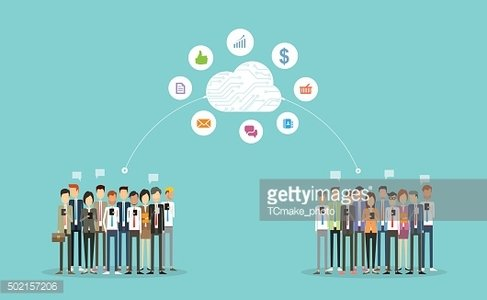 business connection on cloud