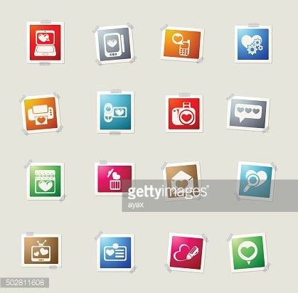 love messages icons