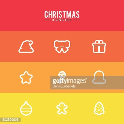 Design Illustration Concepts Icons New Year and Christmas. 2016.