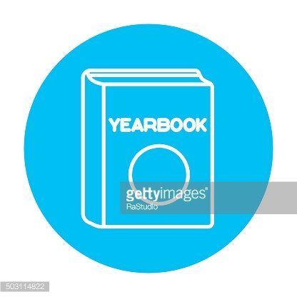 Yearbook line icon