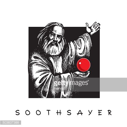 Soothsayer with red Crystal ball.