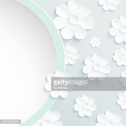 Beautiful wreath of spring flowers, white daisies