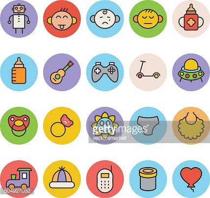 Baby Vector Icons 5