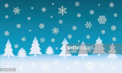 Winter background. Christmas web banner. Vector illustration.