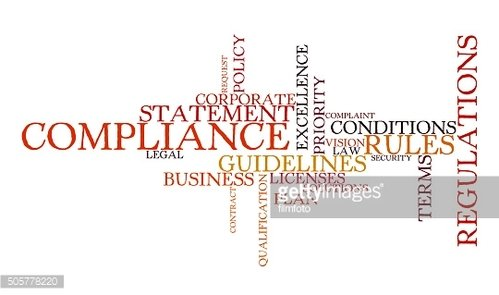 Word cloud for Compliance