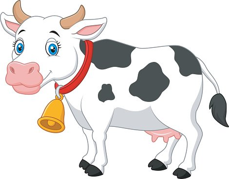 vaca de dibujos animados feliz de dibujos animados premium clip art of farm animals at the fair clip art of farm animals for quilts squares