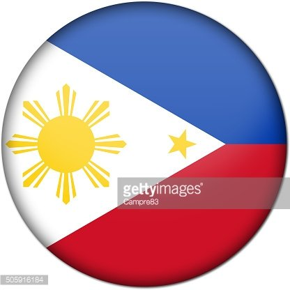 Philippines badge flag