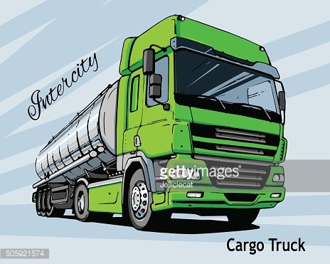 Green Intercity Cargo Truck