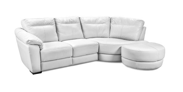 Groovy Luxury Leather Corner Sofa Isolated On White Background Gamerscity Chair Design For Home Gamerscityorg