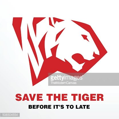 Save the Tiger before it's to late icon of Tiger