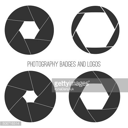 Vector collection of photography logo templates. Photocam logotypes. Photography vintage