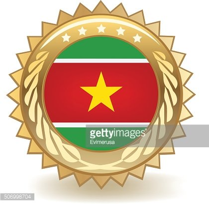 Suriname Badge