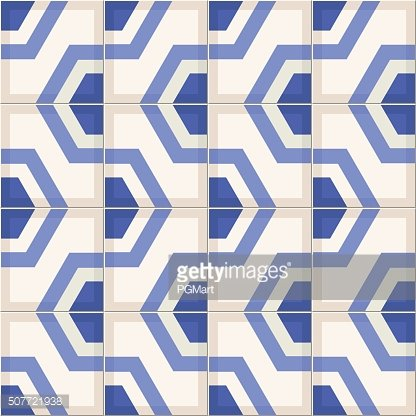 Gorgeous seamless pattern from colorful Moroccan tiles, ornaments.