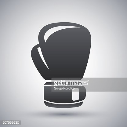 Vector boxing glove icon