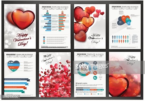 Valentines day backgrounds with hearts