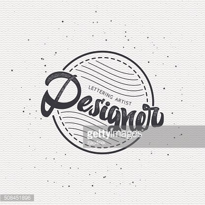 Designer - Insignia sticker can be used as a finished