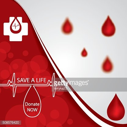 Abstract red donate blood medical background