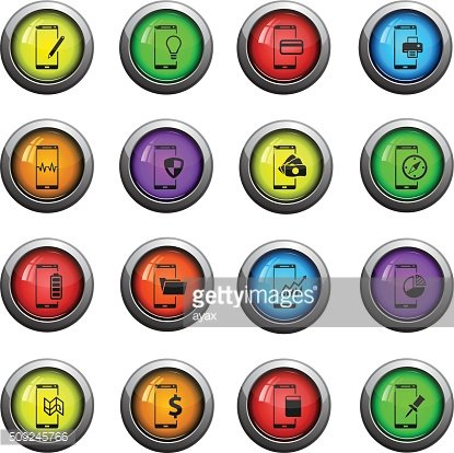 Smartphone simply icons