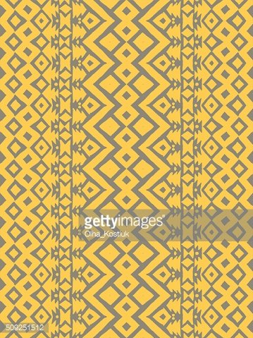 Aztec tribal mexican seamless pattern