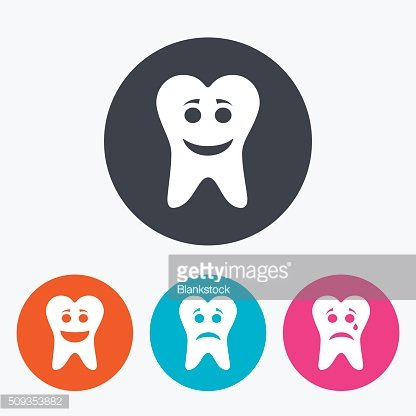 Tooth Happy Sad And Crying Face Premium Clipart Clipartlogo Com