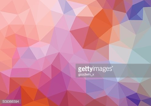 abstract vector background polygon tender shade of pink
