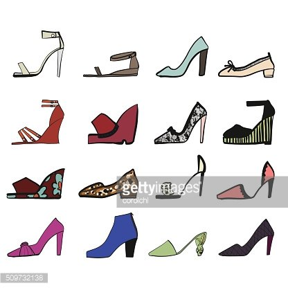 Illustration of shoes.
