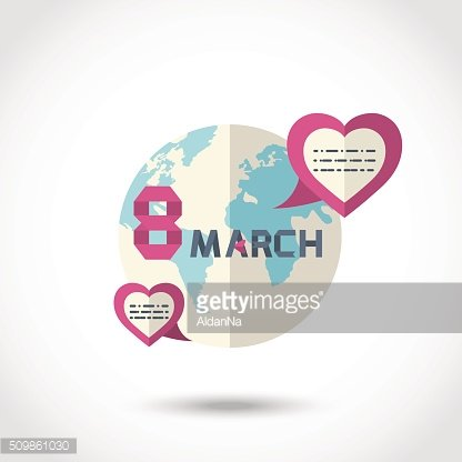 Earth with hearts