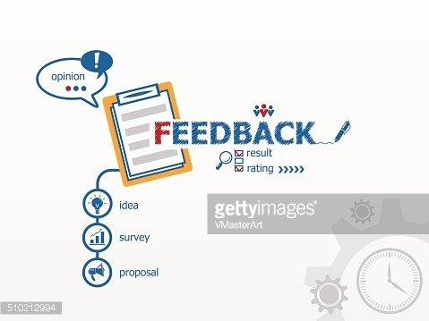 Feedback concept and notebook.