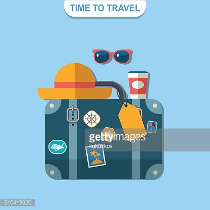 time to travel vector poster