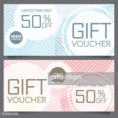 gift voucher certificate coupon template
