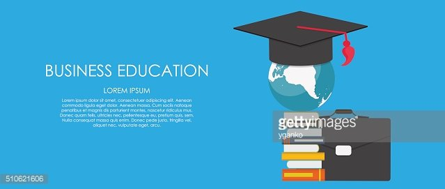 Business Education Concept. Trends and innovation in education