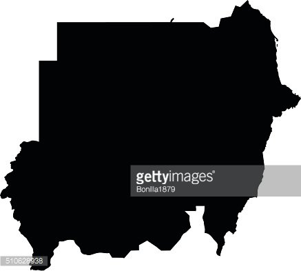 Poland map on white background vector