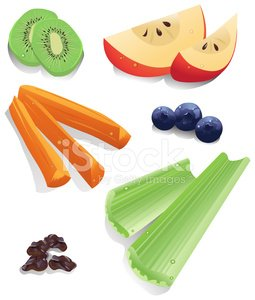 Image result for healthy snack clipart