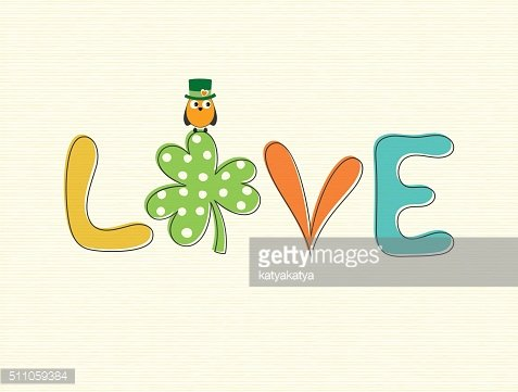 Shamrock Owl Love