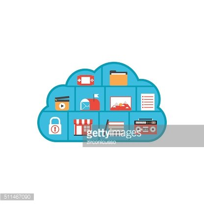isolated cloud multimedia