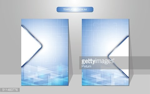 abstract cover design template geometric pattern innovation concept