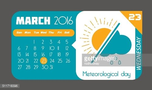23 March Meteorological