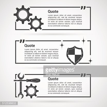 set of quotes templates