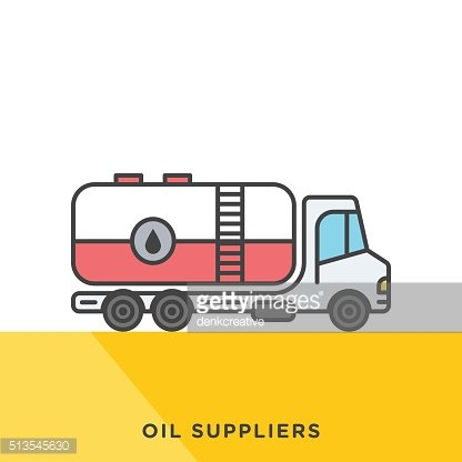 Oil Suppliers Icon