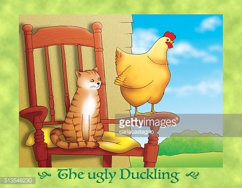 The ugly duckling 14: the cat and the hen