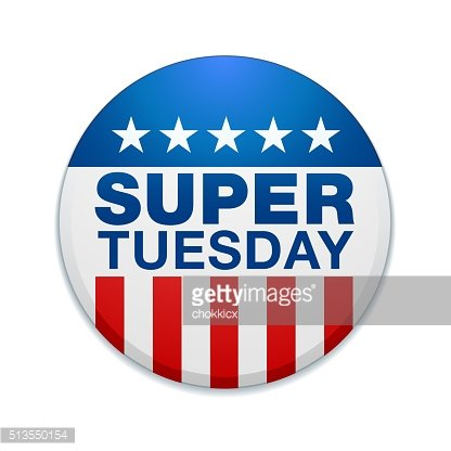 SUPER TUESDAY BADGE