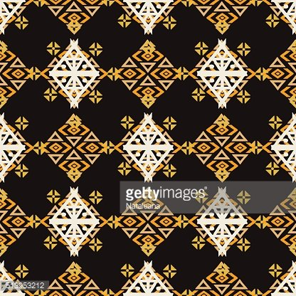 Ethnic colorful seamless pattern
