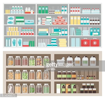 Pharmacy and herbalist's shop