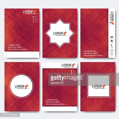 Modern vector templates for brochure, flyer, cover magazine or report