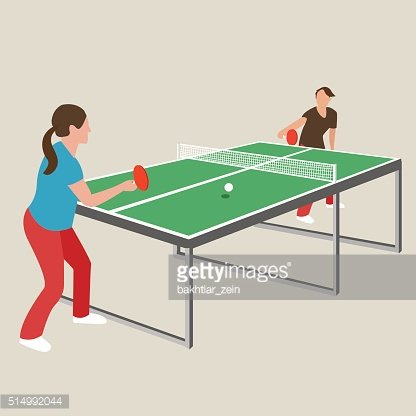 table tennis ping pong woman female girl athlete play sport