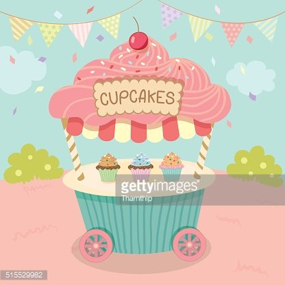 cupcakes cart party