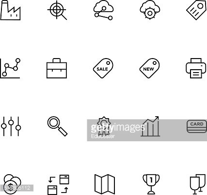 Productivity and Development Vector Icons 5