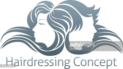 Man and Woman Hair Concept